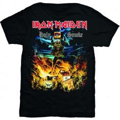 Tricou Iron Maiden: Holy Smoke