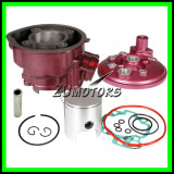 Kit Cilindru Set Motor AM6 80 90 + Chiuloasa AM6 80 90
