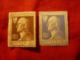 2 Timbre Italia 1927 , 100 Ani Volta , fara guma, Nestampilat