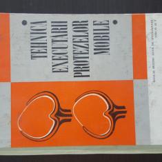 TEHNICA EXECUTARII PROTEZELOR MOBILE - M. Ispirescu. 1970