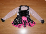 Costum carnaval serbare rochie dans balet pentru copii de 4-5-6 ani, 4-5 ani, Din imagine