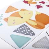 Stickere pentru decorarea camerei copiilor - Vulpita