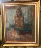 Portret de femeie semnat Theodor Pallady
