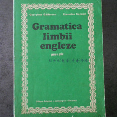 GEORGIANA GALATEANU - GRAMATICA LIMBII ENGLEZE (1982)
