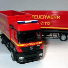 Herpa Mercedes AXOR containere Feuerwehr 1:87