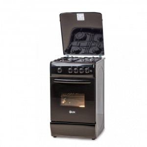 Aragaz LDK 5060 A BLACK NG gaz 4 arzatoare Negru