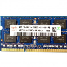 Memorie ram Sodimm  HYNIX 4Gb DDR3 1600Mhz PC3-12800S, 1.5V , hmt351s6cfr8c-pb