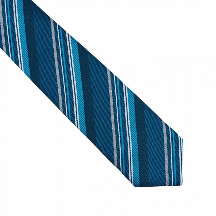 Cravata turcoaz ingusta Slade
