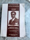 CETATEA UNIVERSITARA - FLORIAN STEFANESCU GOANGA (TEXTE SI EVOCARI, TEZA DE DOCTORAT)
