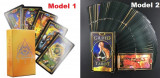 Tarotul Gilded-CARTI de TAROT pocket size,carte pdf, superbe/ENG/SIGILAT