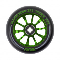 Roata trotineta Slamm Flair 2.0 100mm Green + Abec 9