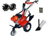 Motocultor Rotakt ROG80-T3, 7 CP, 3 viteze, carcasa transmisie fonta + Roti metalice + Plug scos cartofi + Cadou ulei