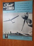 sport si tehnica septembrie 1970-art. si foto aro campulung muscel,dirijabilul