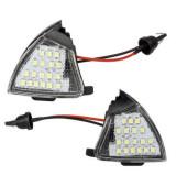 Set 2 lampi oglinda LED pentru Volkswagen Eos, Golf 5, Jetta, Passat