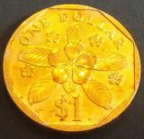 Moneda 1 DOLAR - SINGAPORE, anul 1997    *cod 1631  --- XF