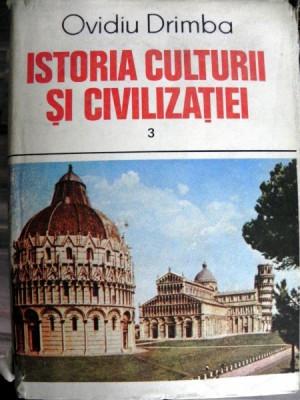 Istoria Culturii si Civilizatiei Vol 3- Ovidiu DrImba foto
