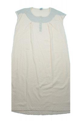 Camasa de noapte pentru gravide Alper ALP1C, Portocaliu foto