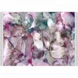 Covor Delila, model roz/verde/crem, 80x150