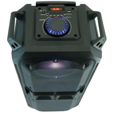 Boxa Activa Portabila Tip Troller, cu Microfon Bluetooth Telecomanda si Radio foto