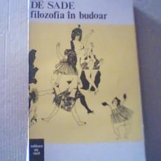Marchizul de Sade - FILOZOFIA IN BUDOAR { 1993 }, Alta editura