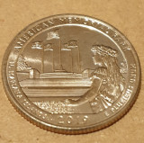 Monedă 25 cents  / quarter 2019 American Memorial Park, N. Mariana Islands, D, America de Nord