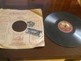Placa patefon/gramofon His masters Voice-Foxtrot - in coperti originale