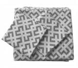Cumpara ieftin Set de cuverturi pentru canapea si fotolii , Fust063 Gri