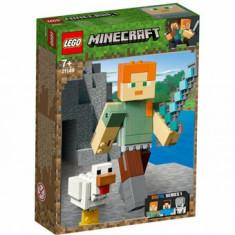 LEGO Minecraft, Alex BigFig cu gaina 21149