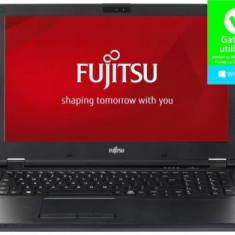 Laptop FUJITSU Lifebook E558 (Procesor Intel® Core™ i5-8250U (6M Cache, up to 3.4GHz), 15.6inchFHD, 8GB, 256GB SSD, Intel® HD Graphics 620, Win10 Pro,