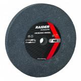 Cumpara ieftin Piatra pentru polizor Raider, 200 x 20 x 16 mm, granulatie 60, Verde