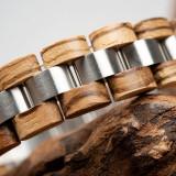 Cumpara ieftin Bratara din lemn, barbati S05-3