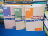 LOT 3 CARTI DANIEL GOLEMAN : INTELIGENTA EMOTIONALA , SOCIALA , LEADERSHIP, 2008