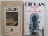 EMIL CIORAN- ESEURI+ TRATAT DE DESCOMPUNERE, PACHET 2 VOLUME