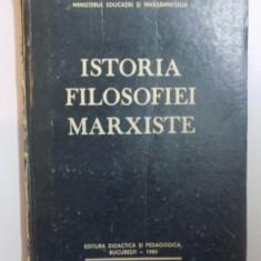 Istoria filosofiei marxiste / Gh. Al. Cazan