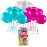 Set baloane Bunch O Ballons Party, 24 bucati, Roz/Bleu/Alb, General