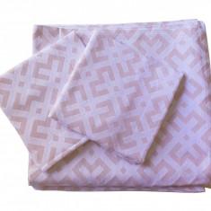 Set de cuverturi pentru canapea si fotolii , Fust063 Roz
