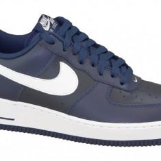 Pantofi sport Nike Air Force 1' 07 488298-436 pentru Barbati, 43, 44, 44.5, 45.5, Albastru
