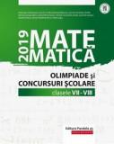 Matematica -Olimpiade si concursuri scolare - Clasele 7-8 /Gheorghe Cainiceanu (Coord.)