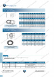 Saiba plata standard DIN 125A/ DIN 125B