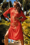 Rochie de plaja Bruna Orange