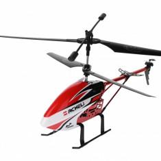 Elicopter cu telecomanda, 3.5 channel, 10 m, Lumini, Rezistenta socuri, Rosu - DH8001D1