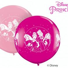 Balon Latex Jumbo 3 ft Printese Disney, Qualatex 49574, 1 buc