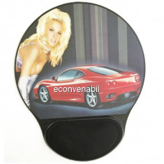 Mouse Pad Rigid, Suport Mouse cu Pernita Silicon BN801