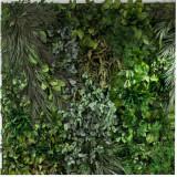 Gradini verticale plante conservate ARTFLORA Jungle 1m x1m