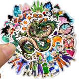 Stickere Dragon Ball Z 50 In Pachet