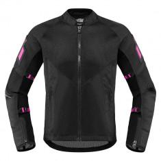 Geaca moto textil Dame Icon Mesh AF culoare Negru, marime S Cod Produs: MX_NEW 28221139PE
