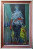 Konstantyn Ungureanu Box (1956) - Portret, 1992, Portrete, Ulei, Altul