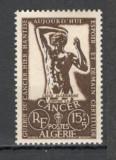 Algeria.1956 Campanie impotriva cancerului  SX.105