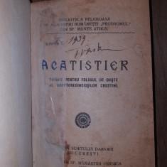 ACATISTIER, 1930