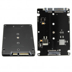 Carcasa adaptor   B+M Key Socket 2 M.2 NGFF (SATA) SSD to 2.5 SATA sigilata